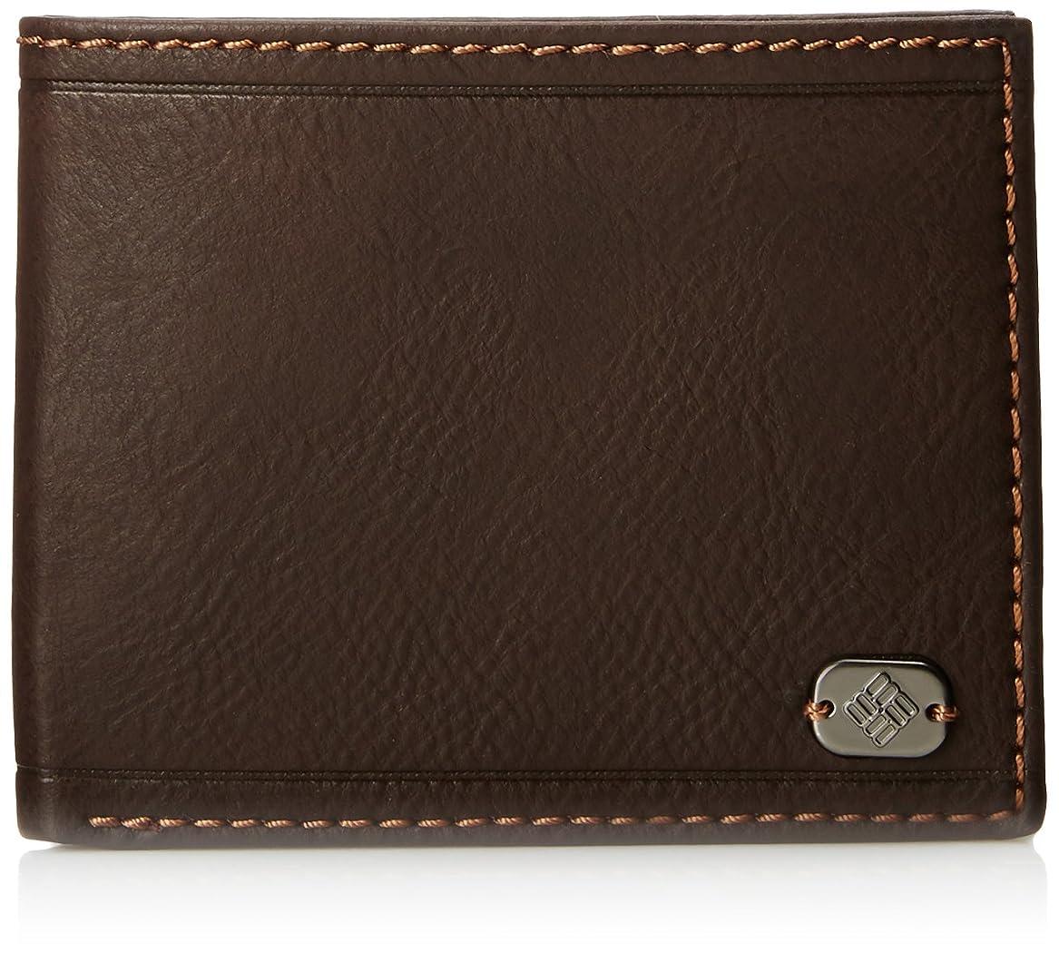 玉豊富大型トラックコロンビアメンズトラベラー財布