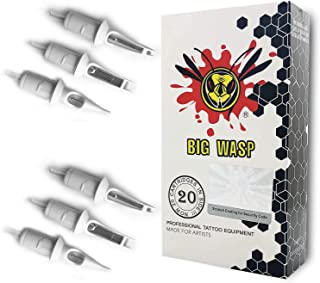 BIGWASP Professional 9RS Disposable Tattoo Needle Cartridge 9 Round Shader 20Pcs