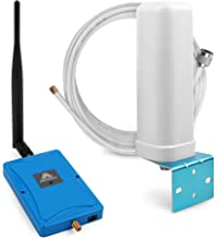 Cell Phone Signal Booster Repeater Amplifier for Home and Office - Enhance 2G 3G GSM Voice Calls Signal Kit with Whip and Omni Antenna. (850MHz Band 5)