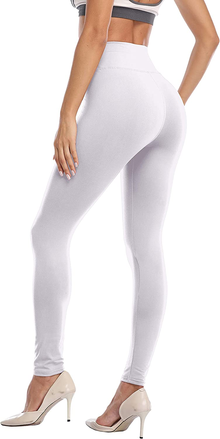 DITSONEO Womens Plus Size Leggings High Waisted Tummy Control Full Length Stretchy Workout Yoga Pants