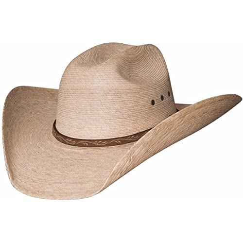 2ae4f63e4ced4 Montecarlo   Bullhide Hats - JASON - 10X Palm Leaf Straw Western Cowboy Hat  (7