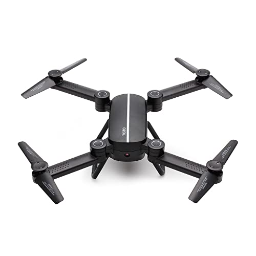TOZO Q1012 Drone RC Quadcopter Altitude Hold Headless RTF 3D 360 Degree FPV VIDEO WIFI 720P HD Camera 6 axis 4CH 2.4Ghz Height Hold Easy Fly Steady for learning, Black