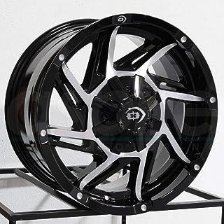 Sponsored Ad - Vision 422 Prowler 20x9 8x170 -12mm Black/Machined Wheel Rim