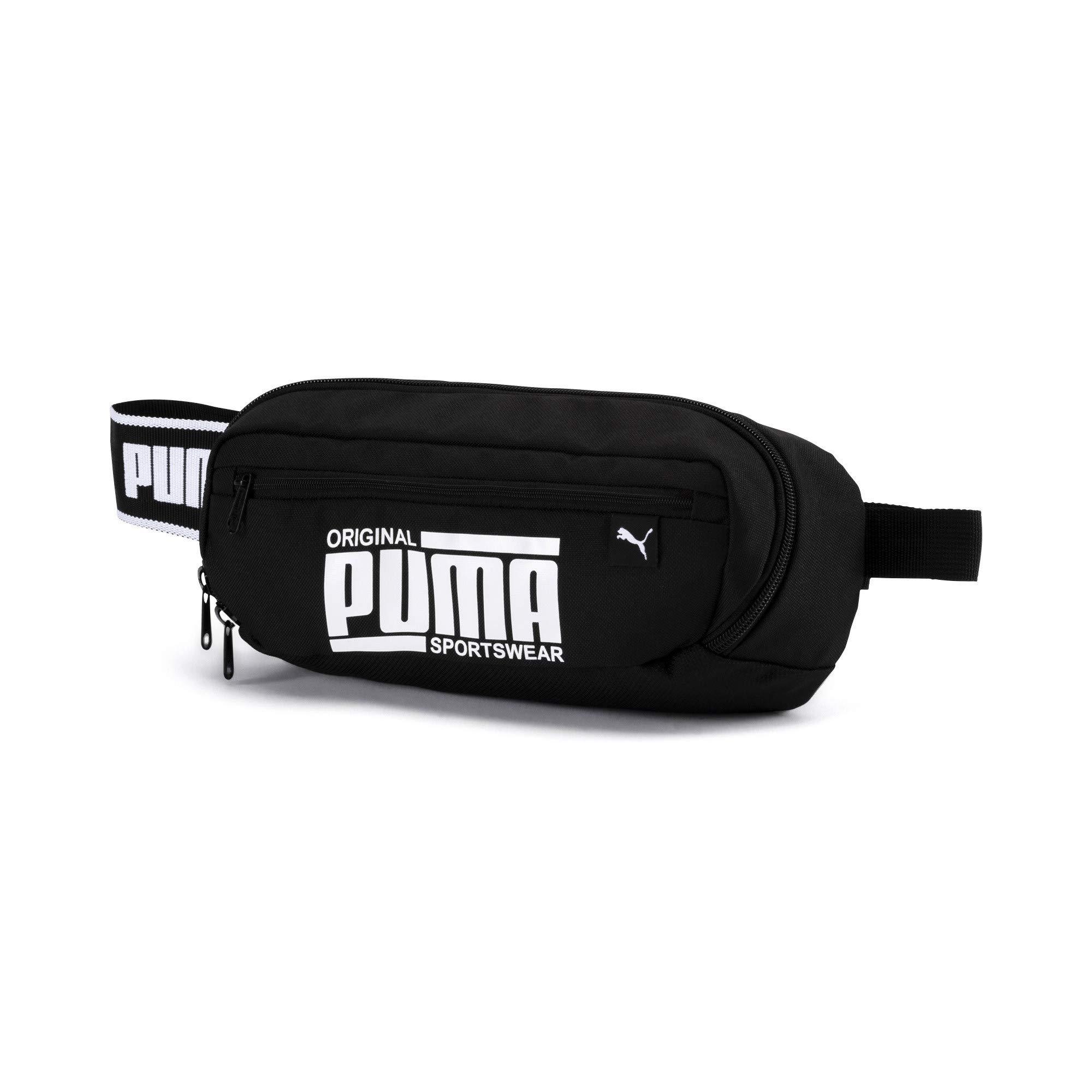 Puma Belt Bag Sole Waist Bag, Riñonera, Sportswear Logo - Negro: Amazon.es: Zapatos y complementos