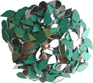 H Glass Glass Craft Glass Mirror (Green_1 Cm)