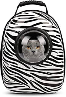 cola-site Pet Dog Carrier Outdoor Hiking Travel Portable Capsule Shaped Pet Carrier Backpack