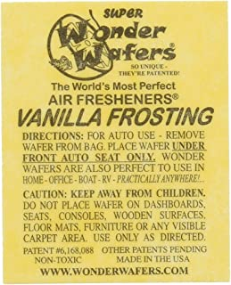 Wonder Wafers 25 CT Individually Wrapped Vanilla Frosting Air Fresheners