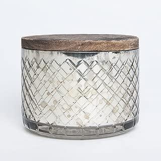 Capri Blue 15 oz Mercury Candle Bowl with LID - Paris NO 21