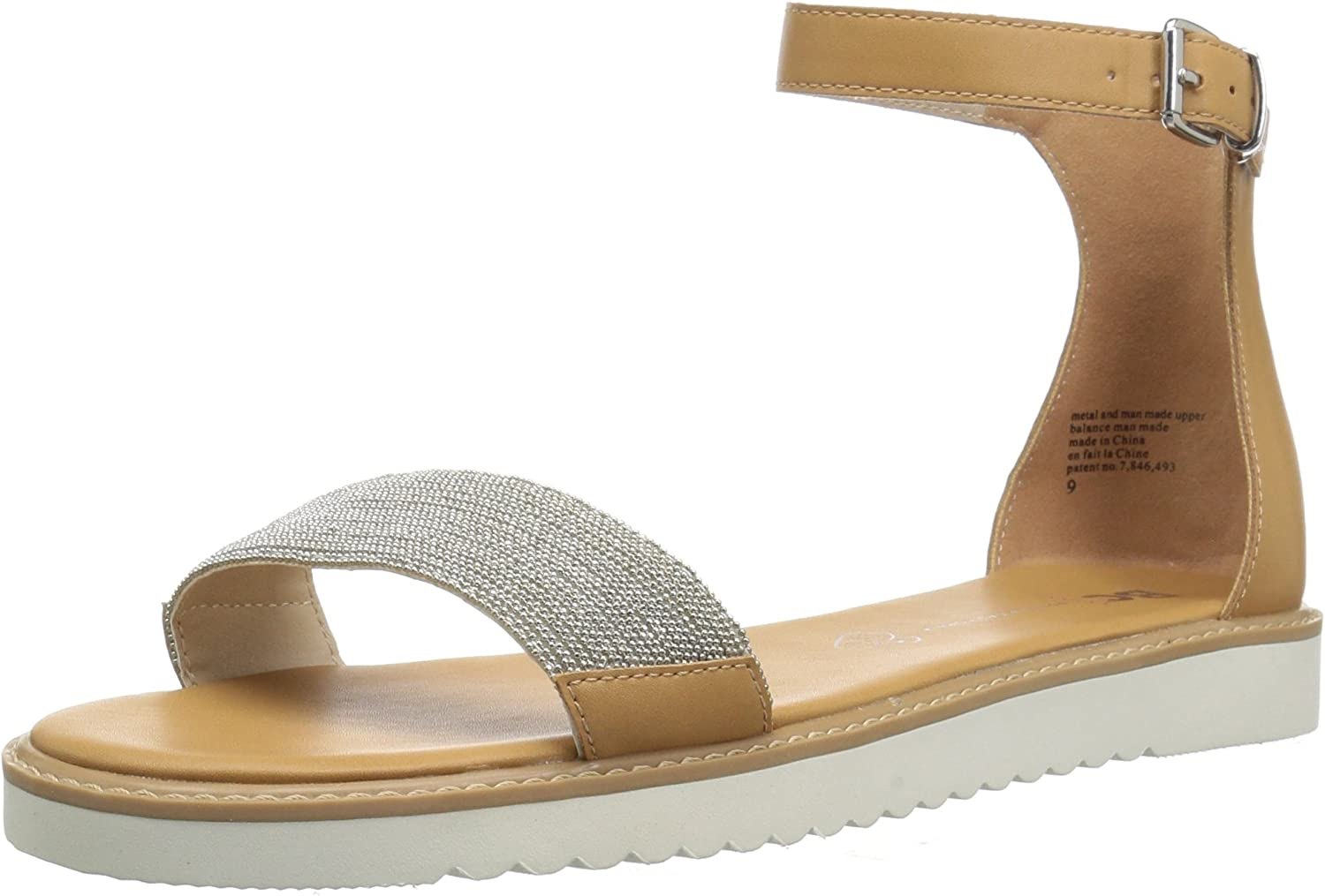 BC Footwear Womens Price of Admission Flat Sandal