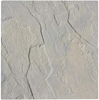 Nantucket Pavers Patio-on-a-Pallet 12 in. x 12 in. Gray Variegated Traditional York-Stone Concrete Paver (Pallet of 100-