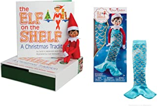 The Elf on the Shelf: A Christmas Tradition - Girl Dark with Claus Couture Merry Merry Mermaid