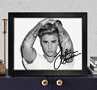 justin bieber autograph real