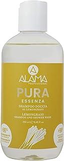 A ALAMA Shampoo Doccia Pura Essenza, Giallo, 250 Millilitri