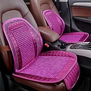 RUIX Summer Cooling Lumbar Universal Massage Cushion Cuscino Traspirante Palline di Legno Cuscino Cuscino del Sedile Auto