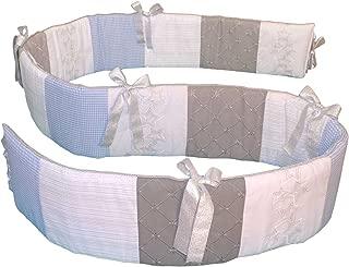 Glenna Jean Starlight Bumper, Blue/White/Grey/Silver Metallic
