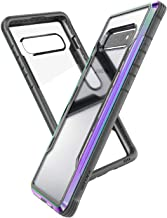 X-Doria Defense Shield, Samsung Galaxy S10 Phone Case - Military Grade Drop Tested, Anodized Aluminum, TPU, and Polycarbonate Protective Case for Samsung Galaxy S10, (Iridescent)