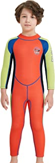 DIVE&SAIL Kids Wetsuit Swimsuit 2.5mm Neoprene Boy Girl Long Sleeve Diving Suit Swimwear