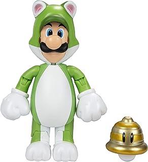 "World of Nintendo 91448 4"" Cat Luigi Action Figure"