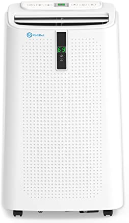 Alexa Enabled RolliCool COOL310 Portable Air Conditioner 12000 BTU - Air Conditioner with Heater, Dehumidifier