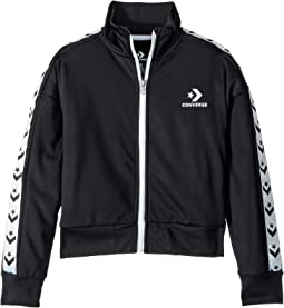 Star Chevron Track Jacket (Big Kids)