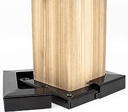 Titan Building Products - 4x4 Post Skirt - SKBL44 - Black - 3.5