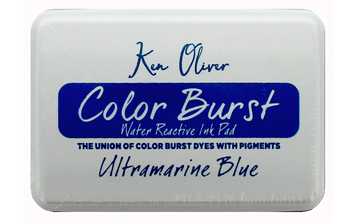 Contact USA KN08732 KO Color Burst Ink Pad UlmBlue kuddpbogbcz772
