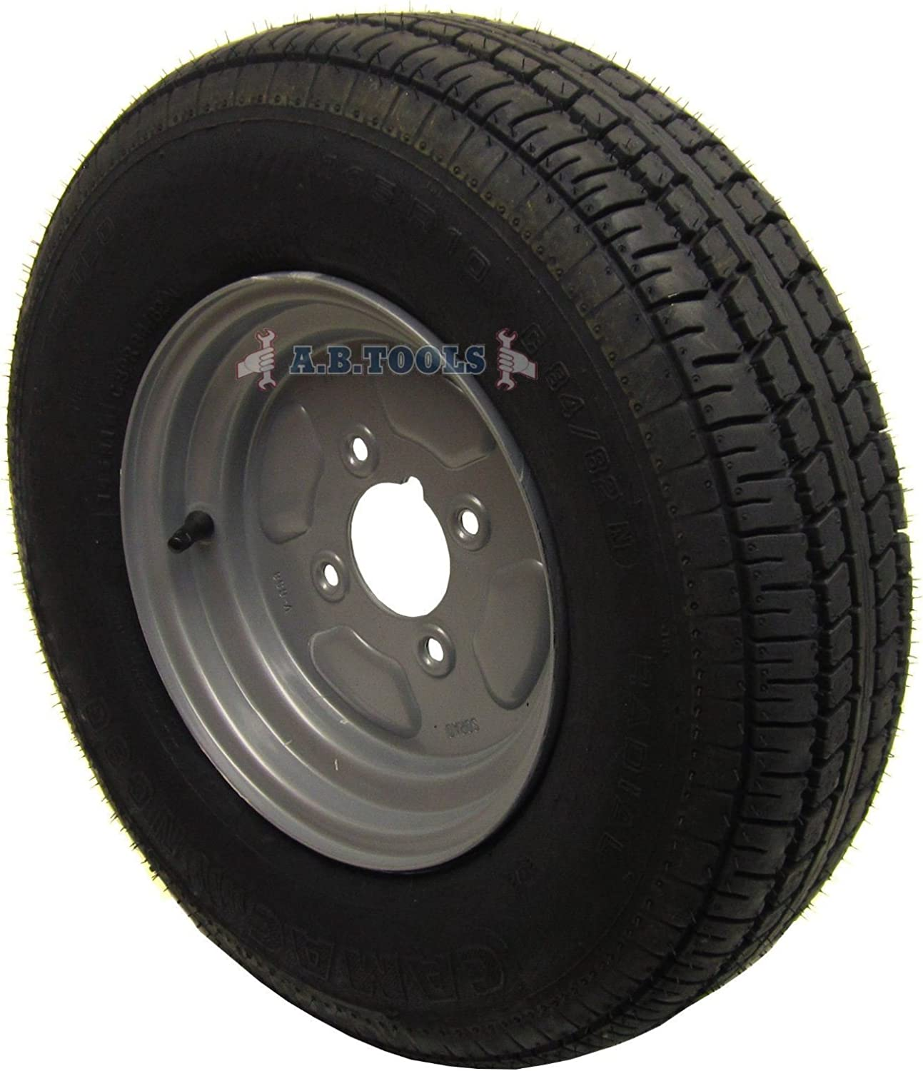 AB depot Tools Trailer Wheel and Tyre 4ply PCD 10 145 Max 76% OFF x 4
