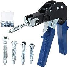Ankerpunt Holle Gecko Metalen Fixing Tool met M4 M5 Hybride Schroef Hollow Drywall Fixing Tool Body Reparatie Tool Makkeli...