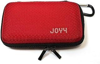 """Joy4 Custodia per Hard Disk Esterno HDD 2.5"""" Cover Antiurto Portatile Case Borsa USB (Rosso)"""