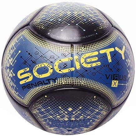 Bola Society Rx Virus Fusion Viii Azul e Amarela Penalty