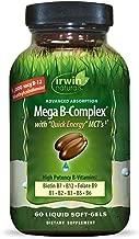 Irwin Naturals Mega-B Complex – 1,000 mcg B-12 – High Potency B-Vitamins with..