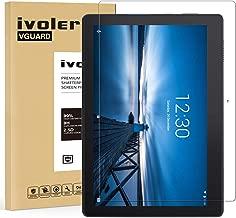 VGUARD Verre Trempé pour Lenovo Tab E10 10.1 Pouces, Film Protection en Verre trempé écran Protecteur Vitre - Anti Rayures - Ultra Résistant Dureté 9H