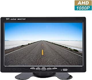 R Nuevo 5 800*480 Monitor de pantalla HD LCD TFT para Camara de reserva de vista trasera de trasero del coche SODIAL Monitor LCD del coche