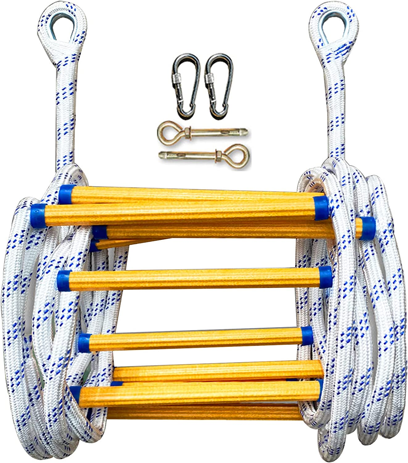 Emergency escape ladder Flame Branded Max 44% OFF goods retardant fire climbing ladde rope