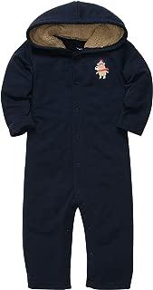 Baby Boys 1-Piece Microfleece Jumpsuit (3M-24M)