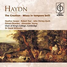 The Creation H XXI:2 (1988 Remastered Version), Part I: The heavens are telling (chorus with trio)