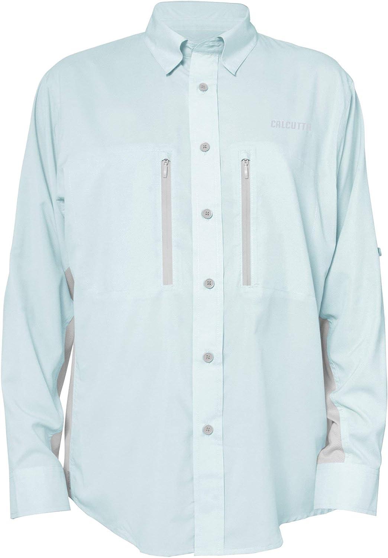 Calcutta Men's Long Sleeve Light Fishing Mail order Shirt Performance Popular products