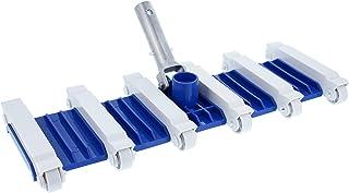 U.S. Pool Supply 19 pulgadas Heavy Duty Pesado Flexible de hormigón piscina cabeza de aspiradora con 1-1/2 pulgadas de con...