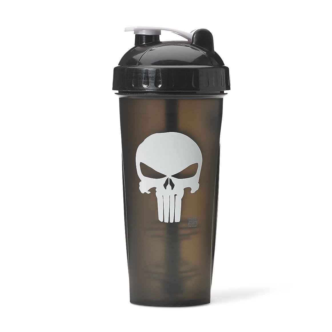 トン経過ドールPerforma Marvel Shaker - Original Series, Leak Free Protein Shaker Bottle with Actionrod Mixing Technology for All Your Protein Needs! Shatter Resistant & Dishwasher Safe (The Punisher) 141[並行輸入]