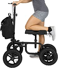 Vive Mobility Knee Walker – Steerable Scooter For Broken Leg, Foot, Ankle Injuries..