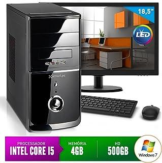 "Computador Smart Pc 80212 Intel Core i5 (4GB HD 500GB) + Monitor 18,5"" Windows 7"