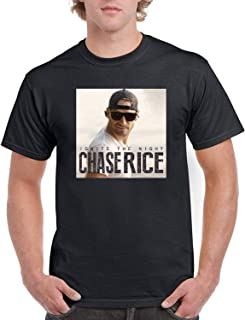 Mens Chase Rice Ignite The Night Black T Shirt