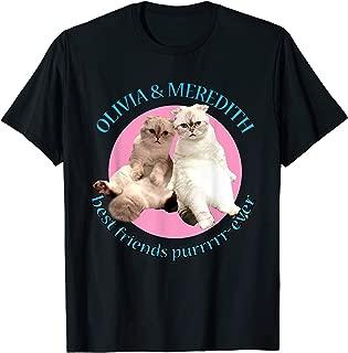Olivia & Meredith Best Friends T Shirt T-Shirt