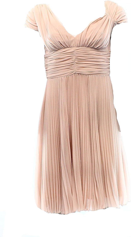 Betsey Johnson bluesh Women's Pleated Ruched Sheath Dress