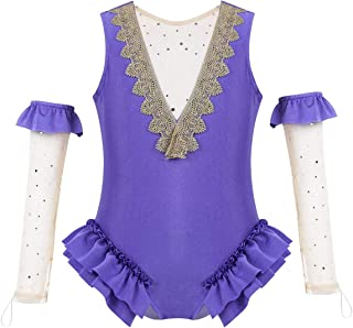 Little Girls' Circus Show Costume Fancy Dress One Piece Dance Leotard Performance Uniform Halloween Outfits