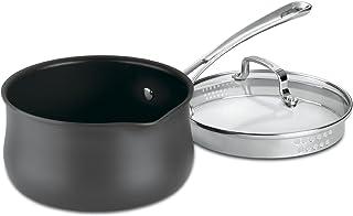 Cuisinart 6419-18P Contour Hard Anodized 2-Quart Pour Saucepan with Cover