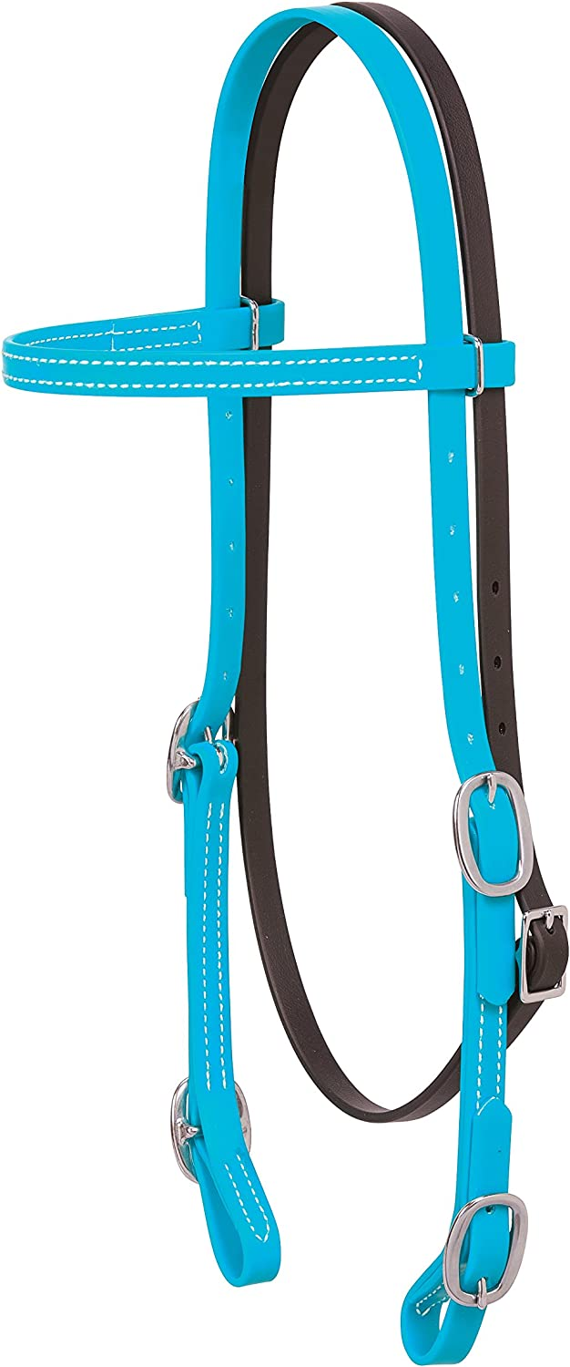 Weaver Dealing full price reduction Sales of SALE items from new works Leather Brahma Webb Headstall Browband