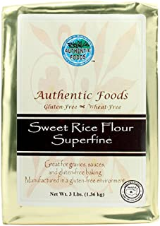 Authentic Foods Superfine Sweet Rice Flour - 3lb