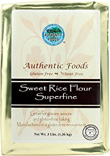 Best is sweet rice flour gluten free Reviews