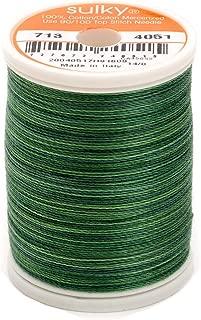 Sulky Blendables Thread 12wt 330yd, Forever Green